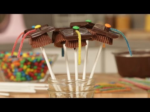 How To Make Graduation Cap Pops Just Add Sugar Youtube