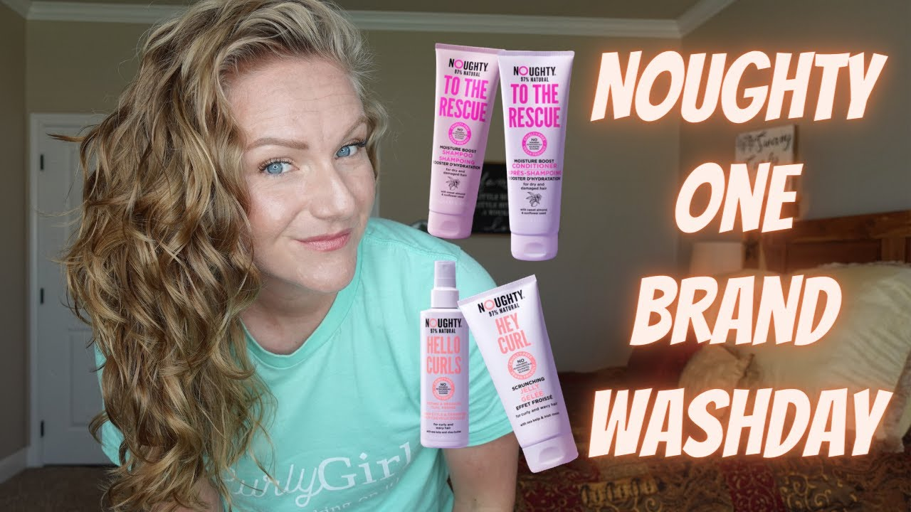 Download Noughty Hair Care Review on Wavy Curly Hair!