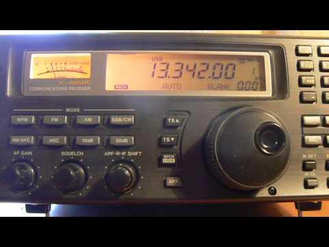 13342khz,Stockholm Radio.