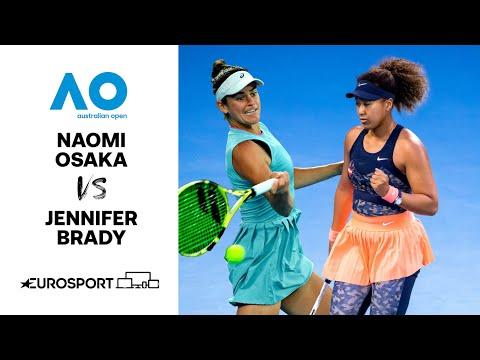 Naomi Osaka v Jennifer Brady | Australian Open 2021 - Highlights | Tennis | Eurosport