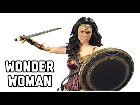 SH Figuarts Justice League Gal Gadot Wonder Woman Action Figure Review Tamashii Nations BANDAI