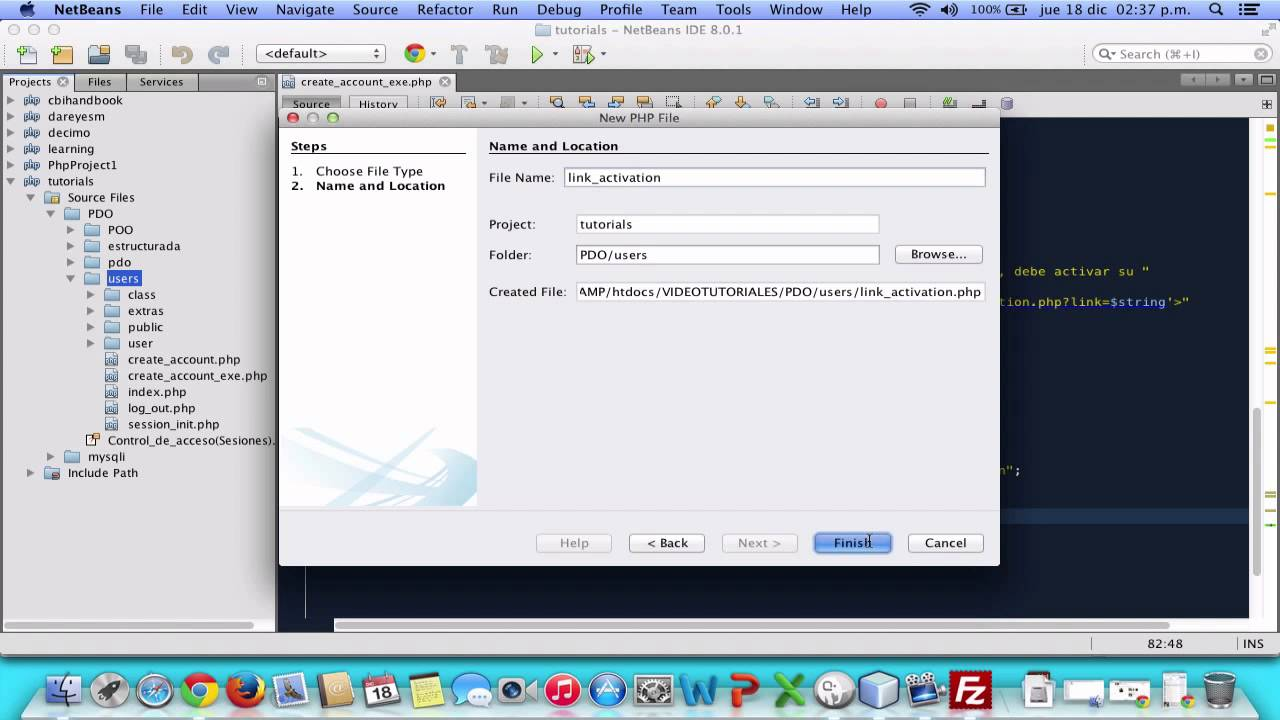 Enviar correos con PHP - Dar de alta un Usuario - 2 - YouTube
