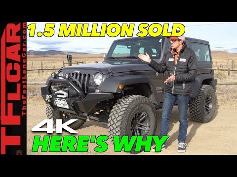 Here's Why The Jeep JK is the Best Selling Wrangler Ever!