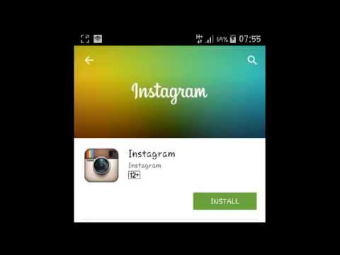 how to install instagram on android cell phone
