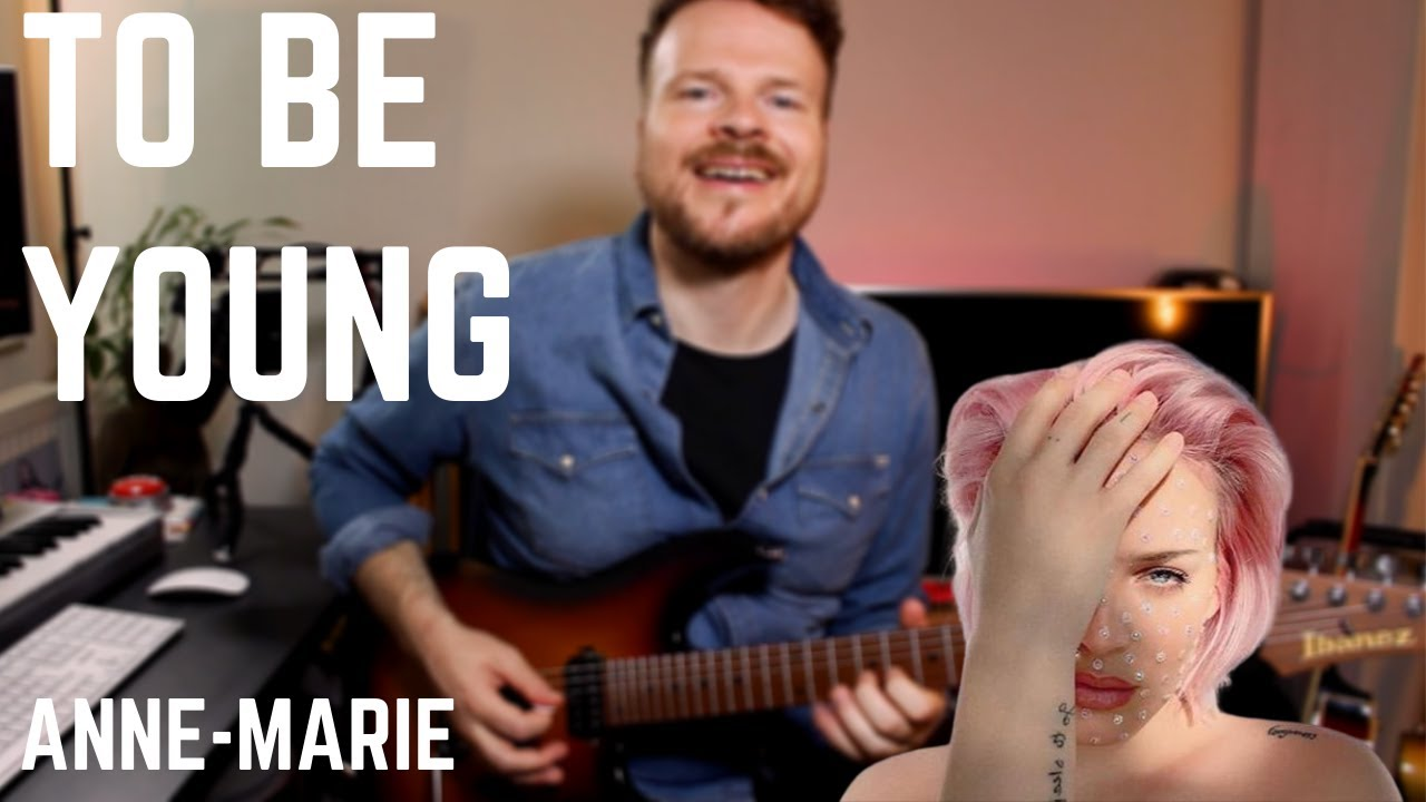 Anne-Marie - To Be Young (Instrumental Rock Guitar Cover)