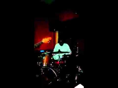 Freddy Spencer playing drum solo