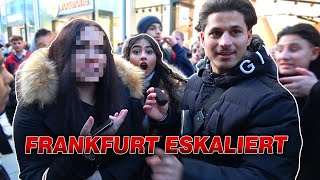 Die größten ABSTU*Z Mädchen aus FRANKFURT 😱 | YaviTV