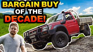 We bought the cheapest TD42 GU Ute on the internet! Is it any good? How to land a bargain yourself!