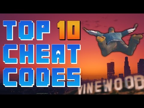 Top 10 Cheat Codes In Video Games!