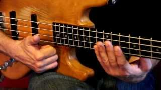 Bass Guitar Slap & Pop Lesson 1