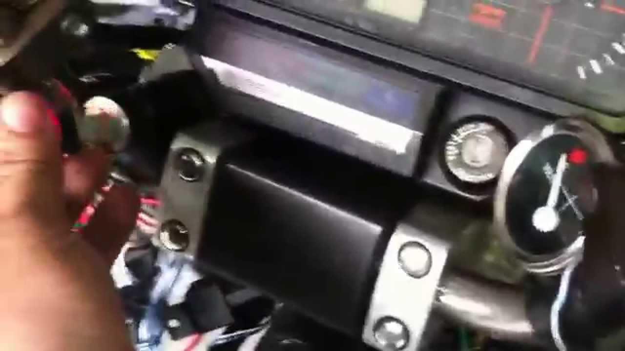 Arduino ignition 1985 honda nighthawk - YouTube