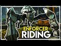 Crafting and Riding an ENFORCER - How to Get an Enforcer! (Ark Extinction DLC Gameplay Ep 7)