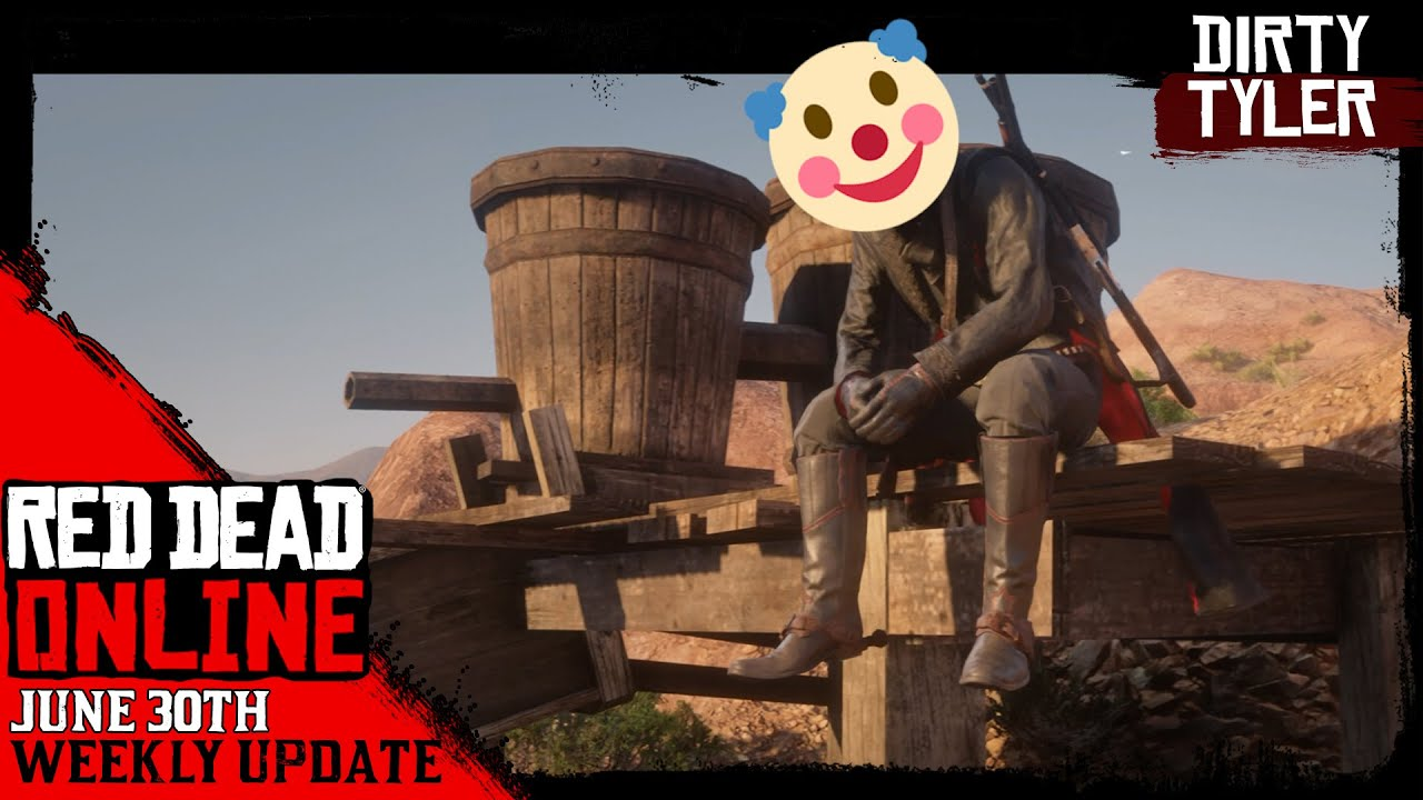This Week's Red Dead Online Update June 30th Red Dead Redemption 2 RDR2