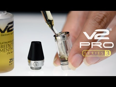 A Step-by-Step Guide to Filling the V2 Pro Series 3 E-Liquid Cartridge