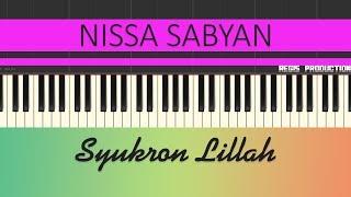 Nissa Sabyan - Syukron Lillah (Karaoke Acoustic) by regis
