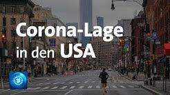 Corona-Lage USA: Ausgangsbeschränkungen werden ausgeweitet
