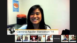 Hangout On Air with Princeton Undergraduates