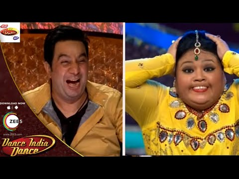 Bharti Singh Makes Judges CAN'T STOP LAUGHING - DID L'il Masters Season 3 - Bacchagiri