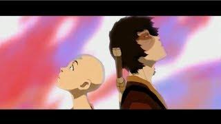 Aang & Zuko Meet the Dragons: Full Scene [HD]
