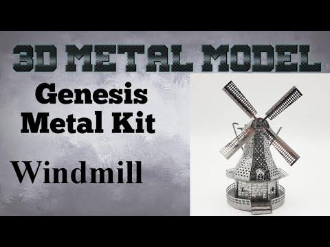 Genesis Metal Model Build - Windmill