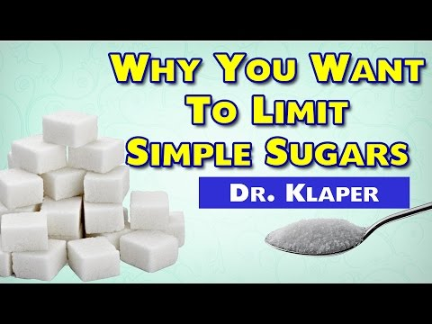 Why To Limit Simple Sugars -- Michael Klaper MD