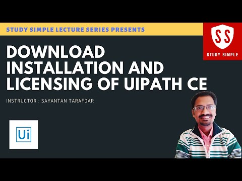 Downloading Installing and Licensing of UIPath Community Edition