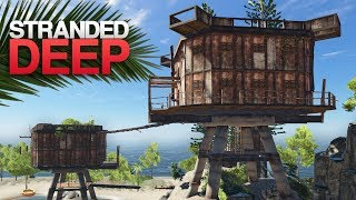 THE LOST OUTPOST ISLAND! Stranded Deep S3 Episode 1