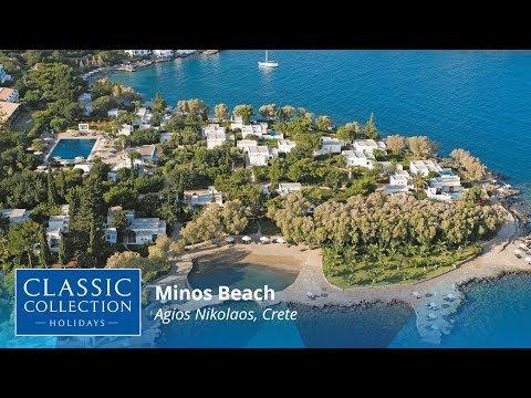 Minos Beach, Agios Nikolaos, Crete