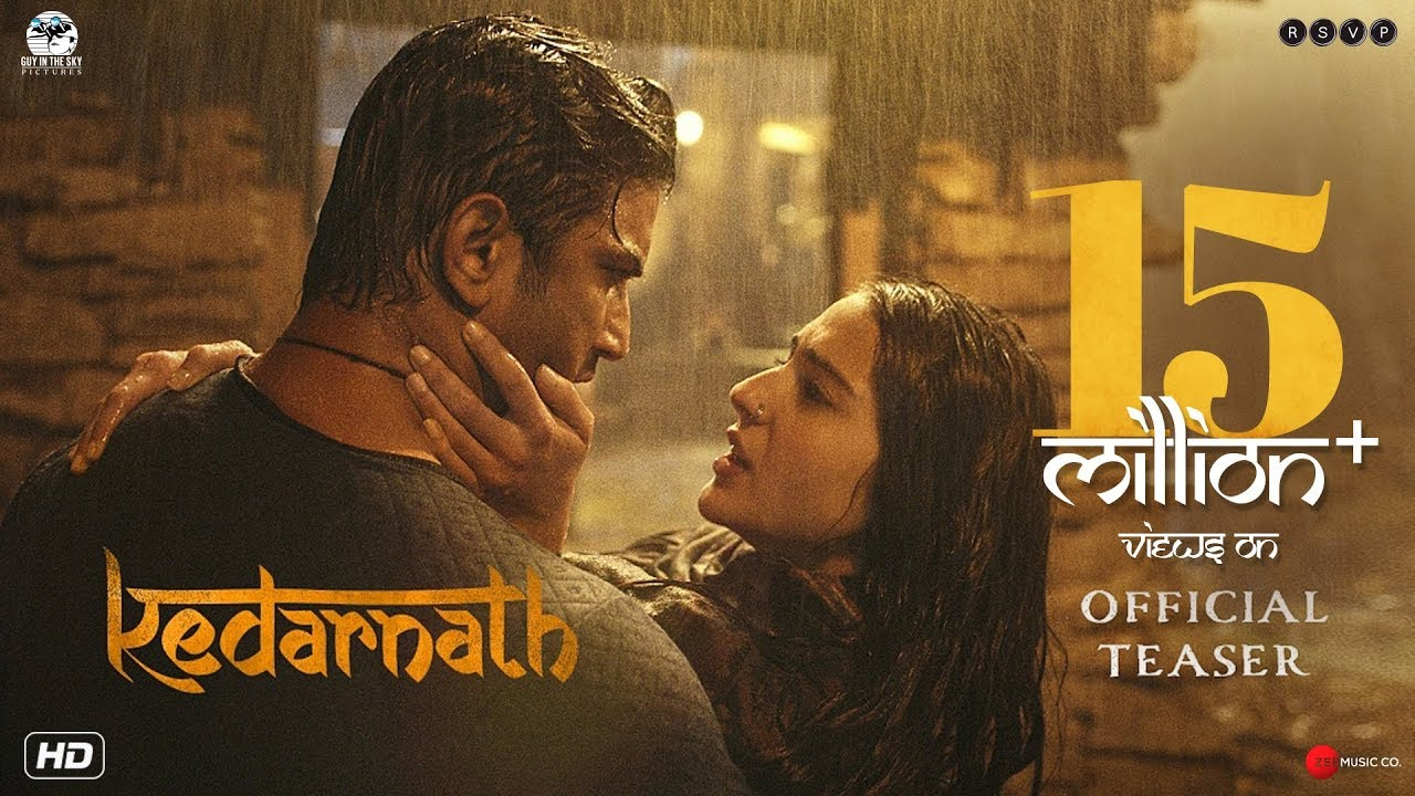 Kedarnath | Official Teaser | Sushant Singh Rajput | 7th December