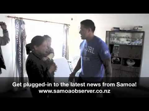 Manu Samoa Captain meets Mele! (Part 1)