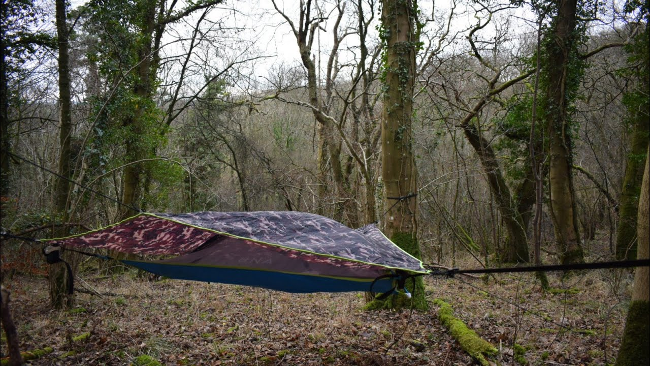 Wild camping Scotland. Set up and review of Tentsile UNA ...