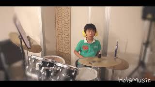 하민이의 멋진  드럼연주입니다!(Cover.시선)-올라…