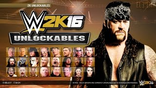 WWE 2K16 Demo : Unlockables, Attires, Arenas, Championships - PS4/XB1 Notion