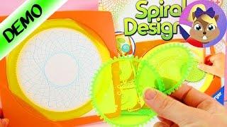 Namalujme si krásné mandaly   Spirograf Spiral Designer   Ukázka