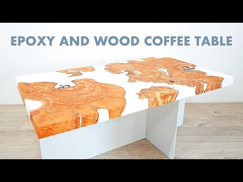 "DIY Live Edge Epoxy / Resin Coffee ""River Table"""
