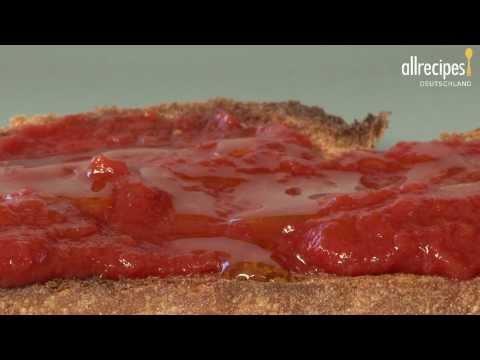 Rezept: Pan tumaca (Brot mit Tomate auf spanische Art)