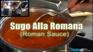 Episode #1 - Making Sugo Alla Romana (Roman Sauce) with Nonna Paolone