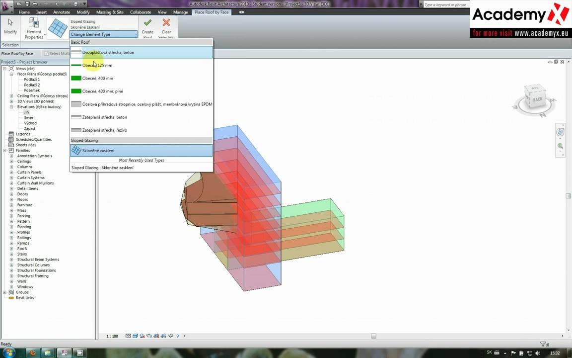 Autodesk revit architecture 2010 - mass modeling
