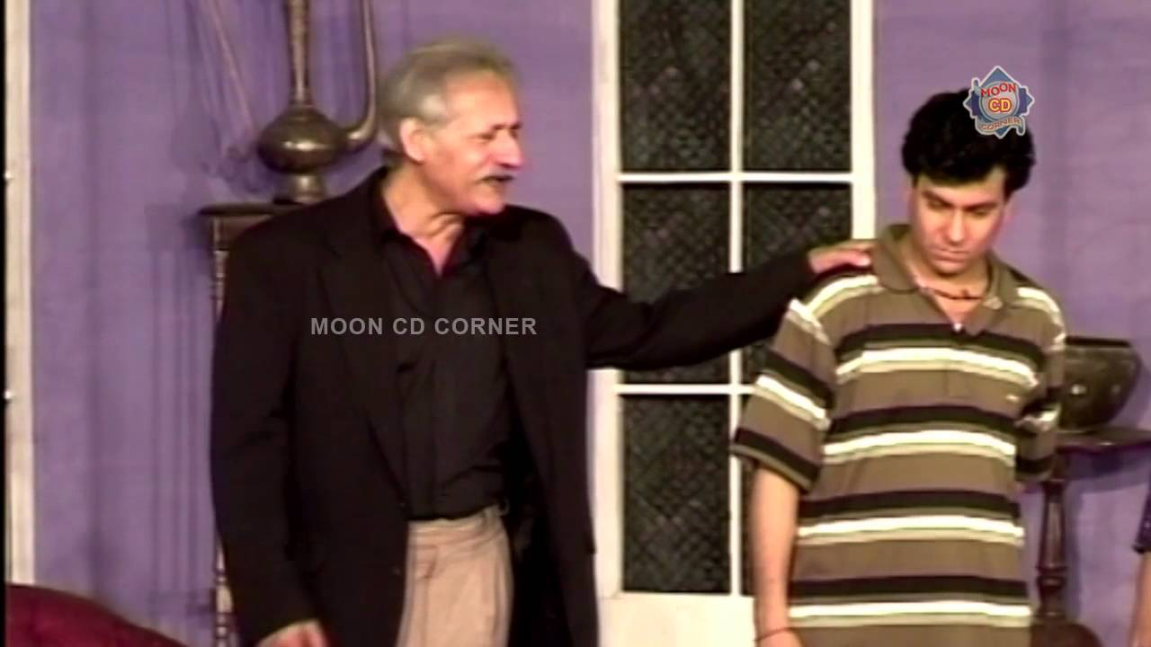 Best of Tariq Teddy and Khalid Abbas Dar New Stage Drama Full Comedy Clip