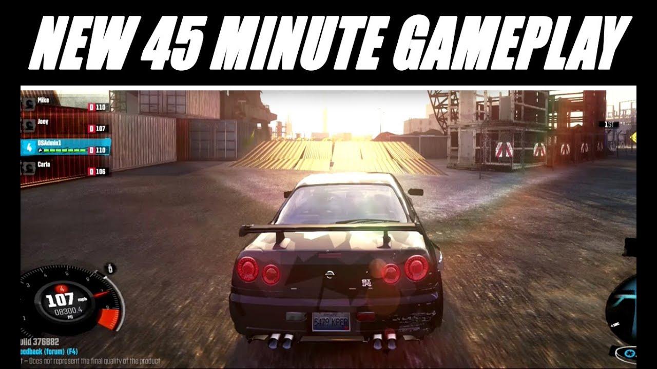 The Crew Gameplay Walkthrough 45 Minute Demo Shows Open
