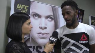 UFC 207: Neil Magny Backstage Interview