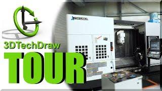 3DTechDraw Shop Tour: AMAZING Okuma Multus 3000 and More!