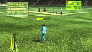 Brian Lara international Cricket 2007( PC Gameplay ) - India Vs West Indies Part - 2
