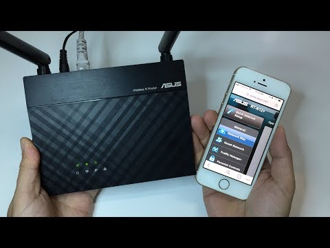 Setup ASUS router using Mobile | NETVN