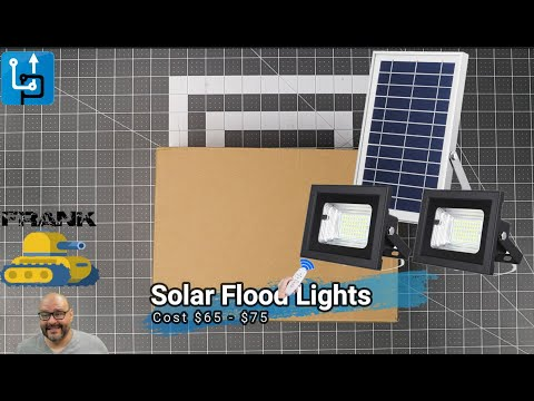 Solar Flood Lights Outdoor/Indoor
