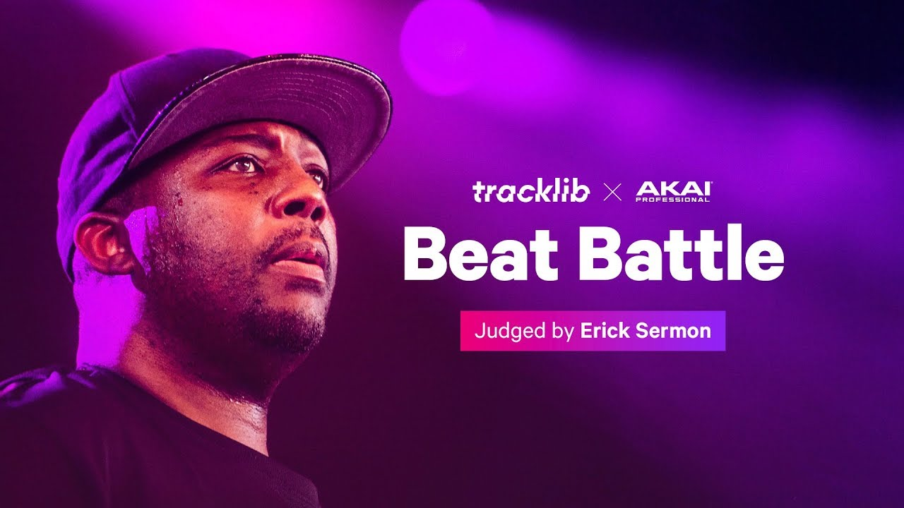 Beat Battle with Akai & Erick Sermon | Tracklib Blog