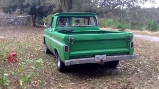 Straitpiped 1965 gmc pickup