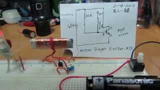 1.5V AA  micro slayer ferrite exciter