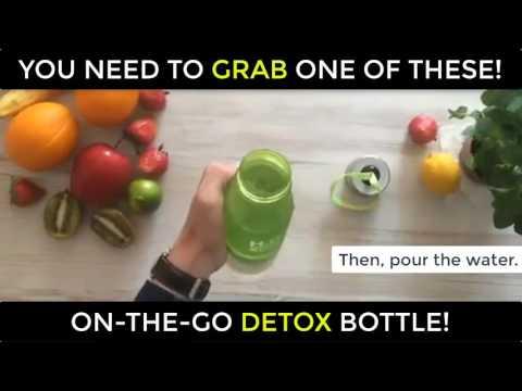 H2O Lemon Detox Bottle