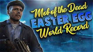 Mob of the Dead 4-Player Easter Egg SpeedRun World Record! -18:02